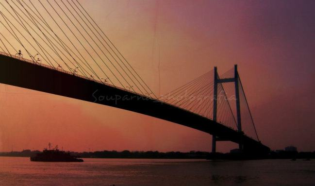 The Hooghly Bridge